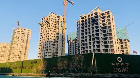 棉五社区改造项目东胜•时间山。 东胜集团供图