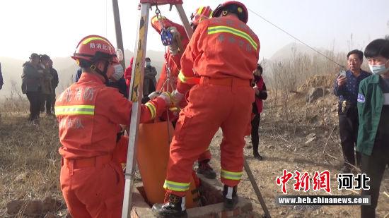 消防救援中。 消防供图