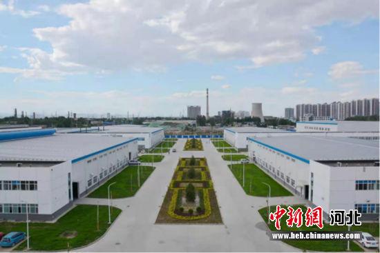图为位于保定竞秀区的向阳航空科技装备产业园。 竞秀区委宣传部供图