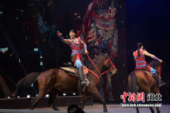 隆承国际大马戏试演。 隆承旅游度假区供图