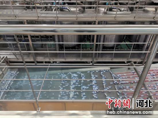 衡水高新区一企业生产车间一角。 王鹏 摄