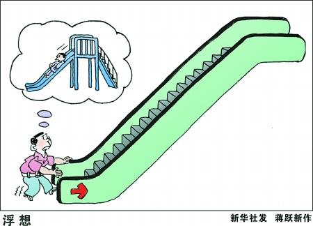 自动扶梯矢量图