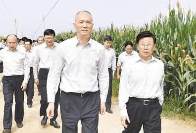 北京市领导到河北省考察雄安新区规划建设