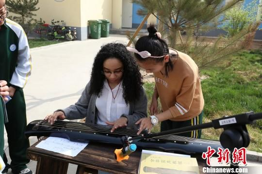 美国迪安高中师生来衡参观交流 感受中华文化