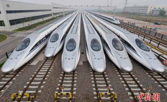 迎接中共十九大图片专题――中国高铁篇