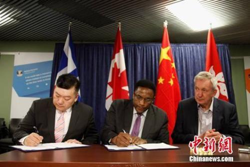 香港潮州商会代表团访多伦多签战略合作协议