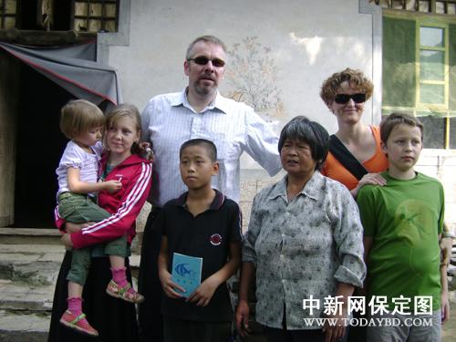 资助满城山村贫困儿童