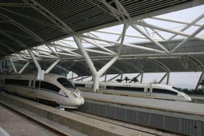 广深港高铁广东段年底通车 广州到香港仅40分钟