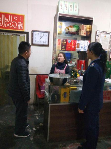 河北正定县铁腕整治农村小餐饮行业