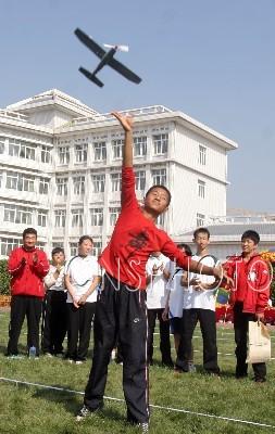 秦皇岛市特殊教育学校聋哑专业的学生