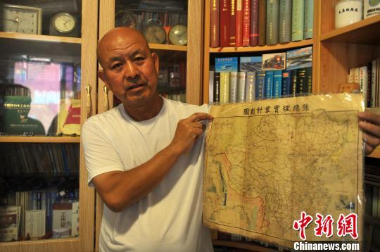 河北一(yi)老人三(san)十余載收藏數萬件鐵路物(wu)品