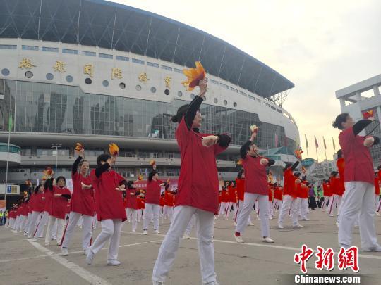 """石家庄第十届社区举动会举办 着力打造""""全城热练""""健身盛会"""