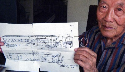 慈禧图纸图纸现身唐山河北二级要塞龙车旅社图片