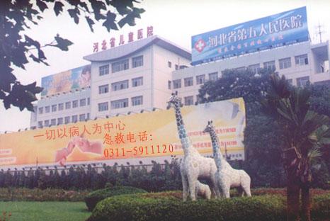 不断发展中的河北省儿童医院